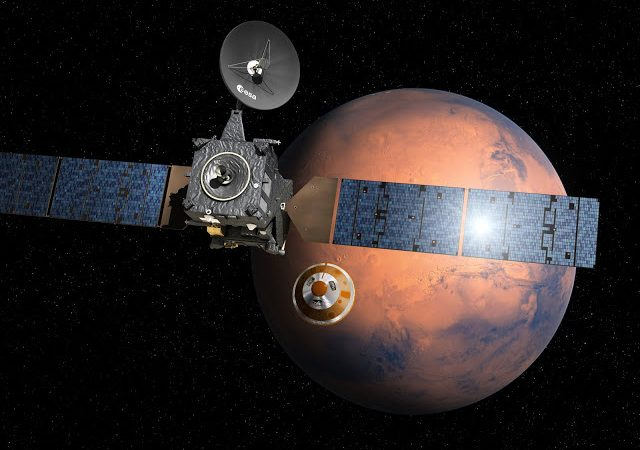 Sonda Schiaparelli ExoMars2016, da ESA e Roscosmos