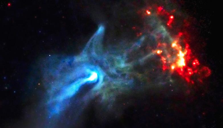 """A """"mão de Deus"""" da NASA"""