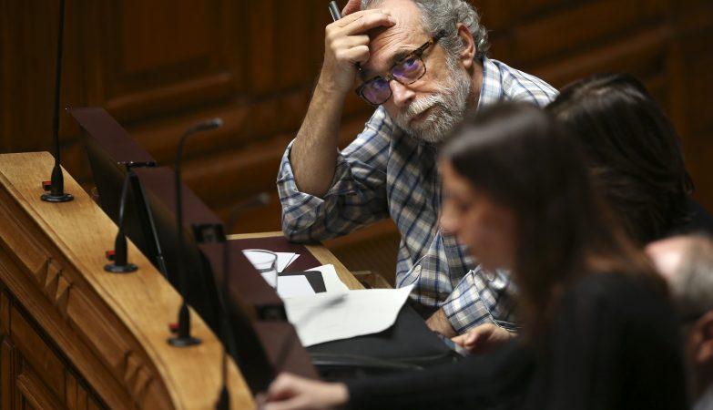 O deputado Jorge Falcato, do Bloco de Esquerda