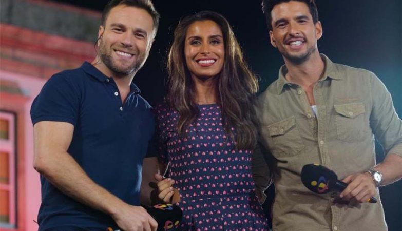 """Nuno Eiró, Mónica Jardim e João Montez no """"Somos Portugal"""" da TVI"""
