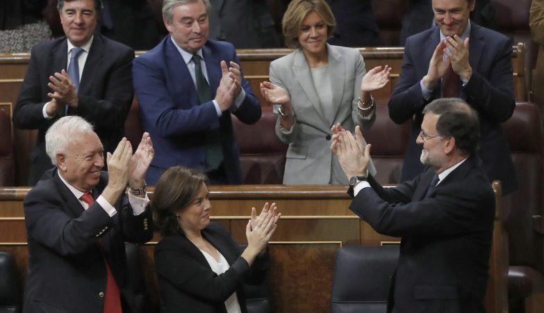 Investidura de Mariano Rajoy como primeiro-ministro de Espanha