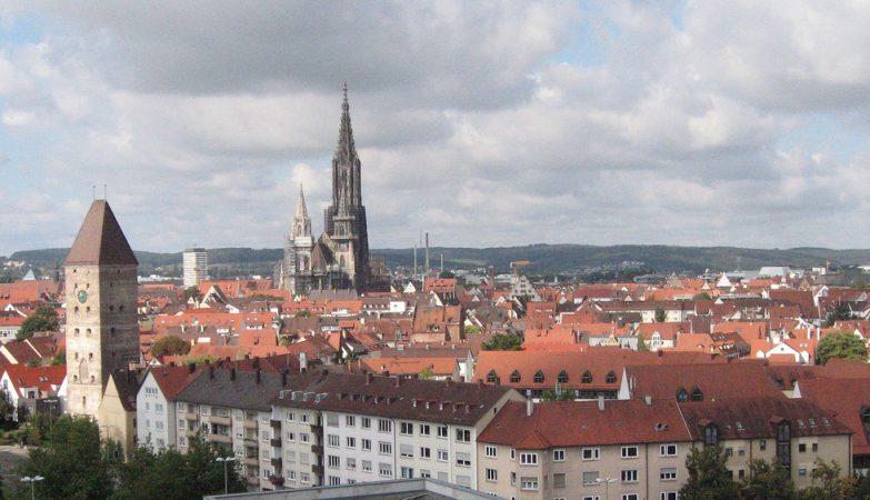 A catedral de Ulm, na Alemanha