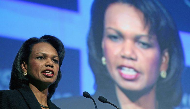 """""""Basta! Donald Trump não pode ser presidente"""", disse a ex-secretária de Estado dos EUA, Condoleezza Rice"""