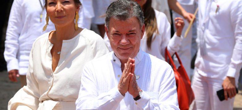 Juan Manuel Santos, Presidente da Colômbia