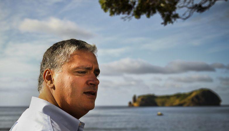 O presidente do Governo Regional e líder do PS dos Açores, Vasco Cordeiro