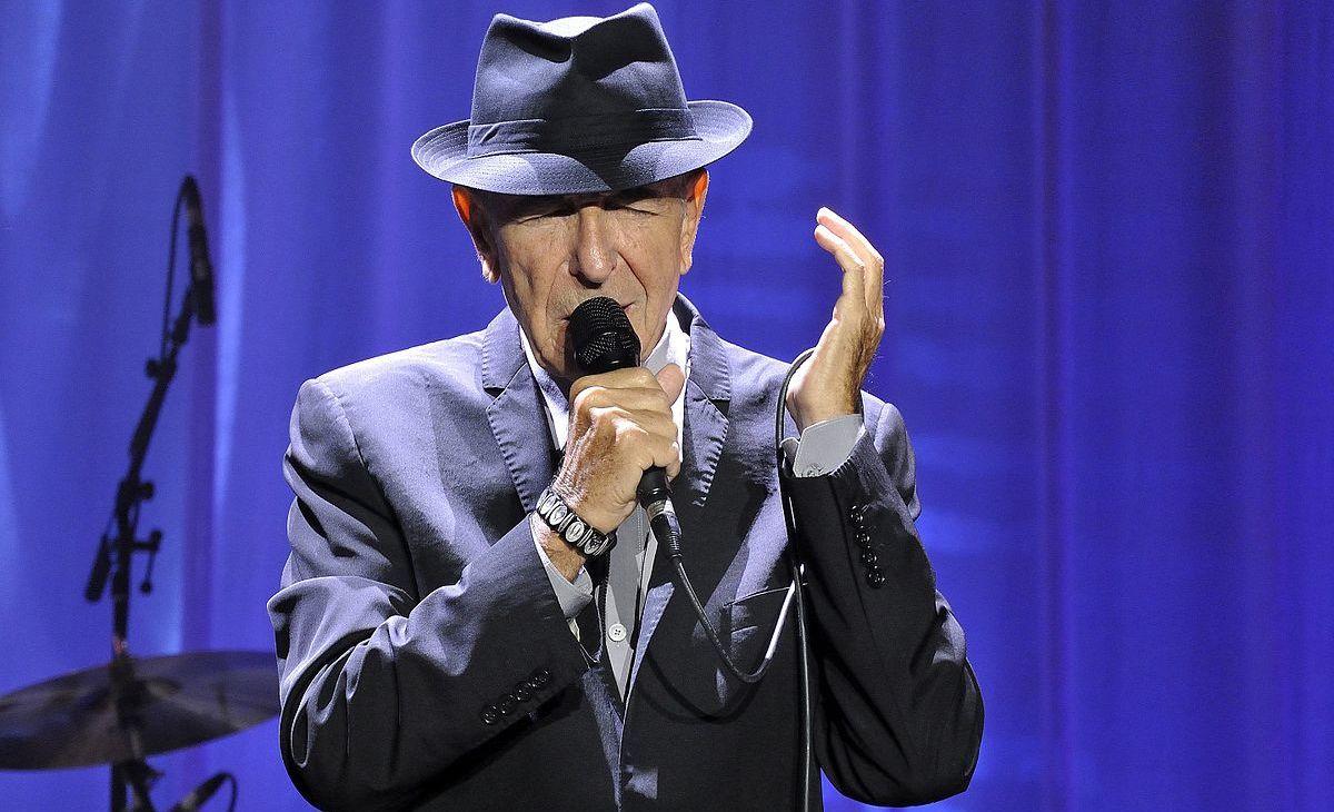 Leonard Cohen em Odense, na Dinamarca, 17 de Agosto de 2013