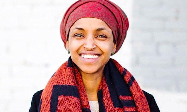 Ilhan Omar, a primeira mulher de origem somali a ser eleita deputada estadual nos Estados Unidos