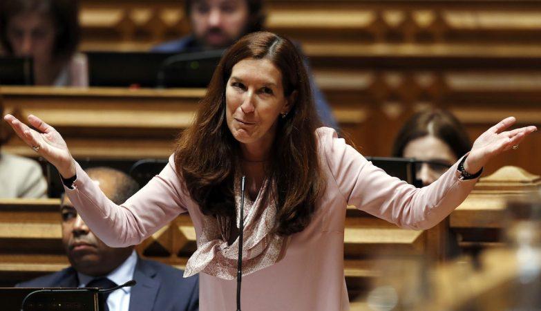 A deputada do CDS-PP, Cecília Meireles