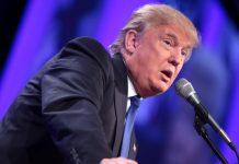 O presidente eleito dos Estados Unidos, Donald Trump