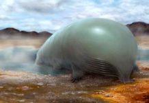 Conceito artístico do que poderia ser uma vida baseada em silício no lugar de carbono