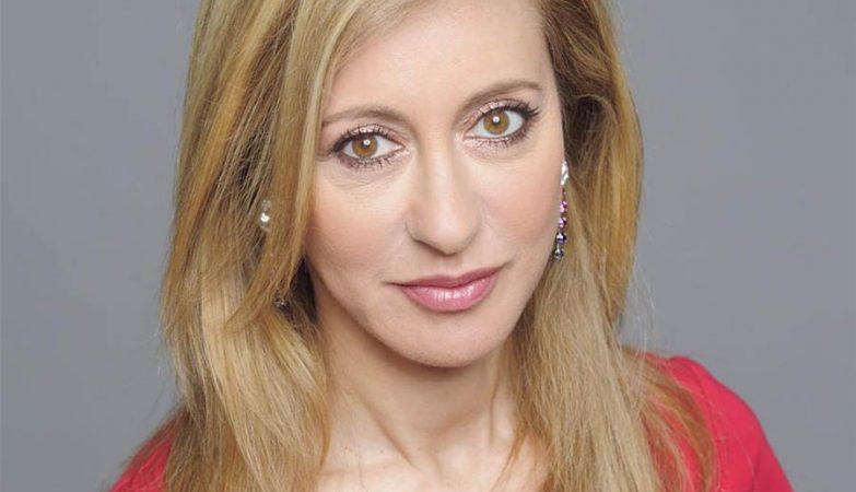 A jornalista e apresentadora Judite de Sousa