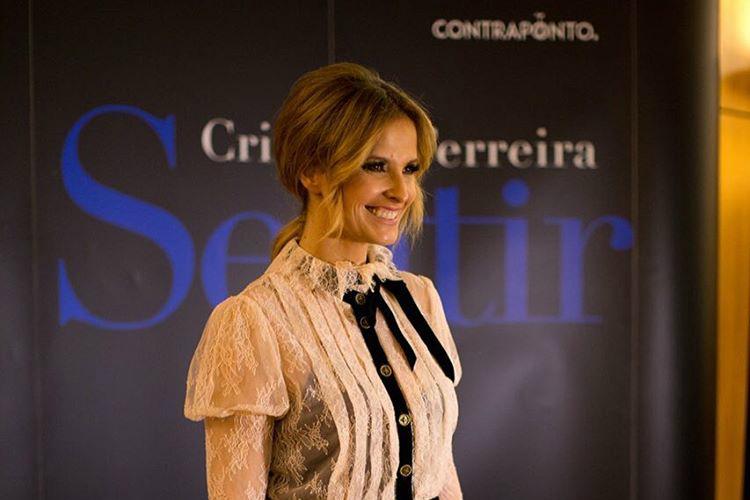 """Cristina Ferreira na apresentação da sua autobiografia, """"Sentir"""""""