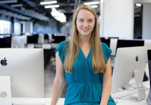 Brittany Bir, diretora de operações da Universidade 42 na Califórnia