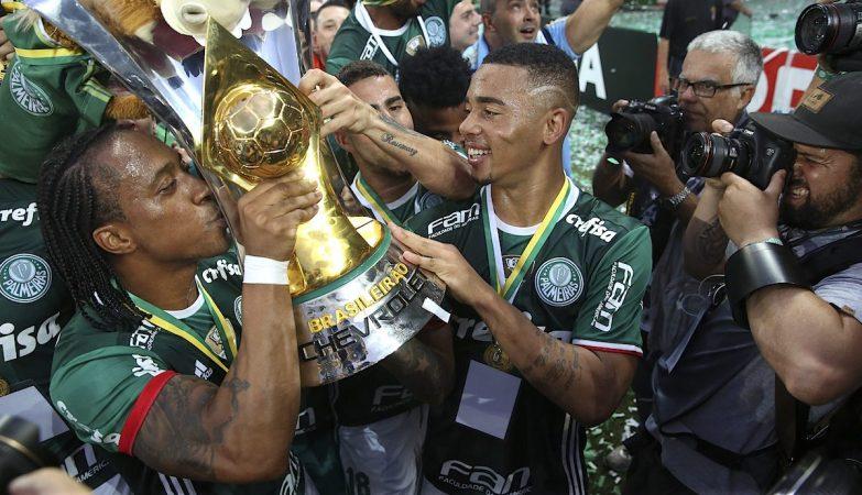 Arouca e Gabriel Jesus, Campeão Palmeiras vs Hapecoense