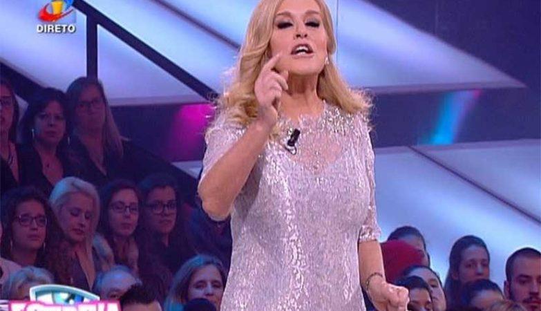 """Teresa Guilherme a apresentar o reality show da TVI """"casa dos Segredos"""""""