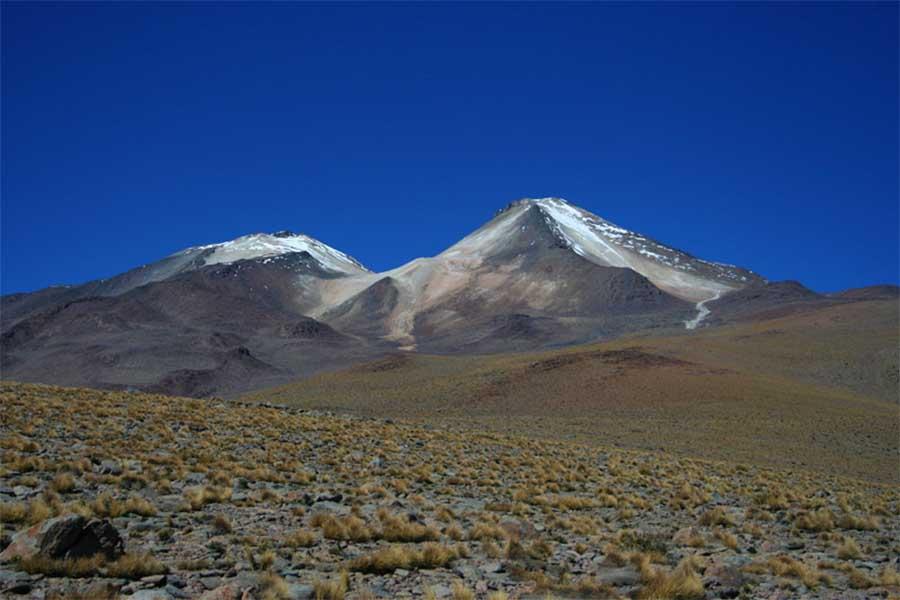 Vulcão Cerro Uturuncu na Bolívia