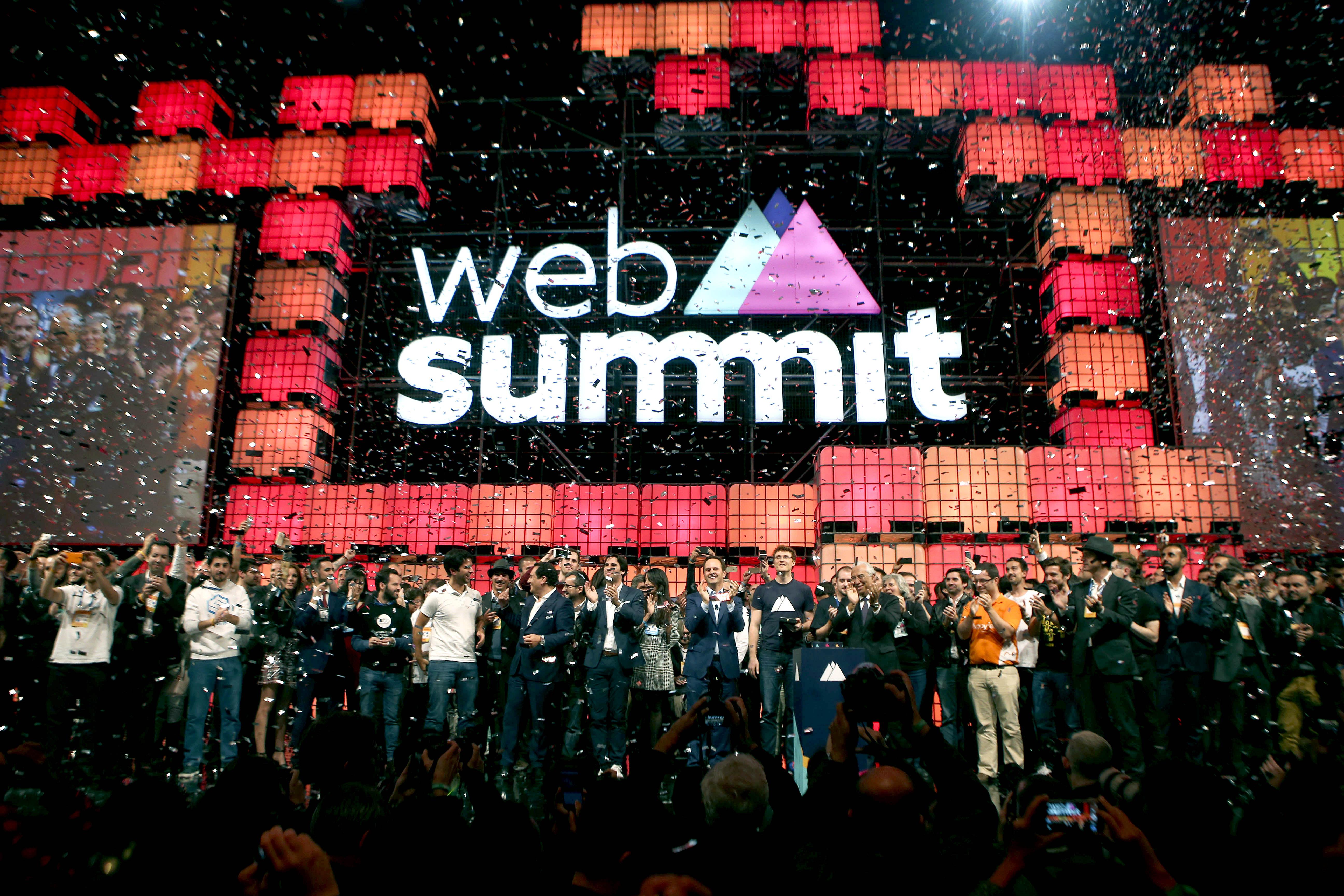Abertura da Web Summit, em Lisboa