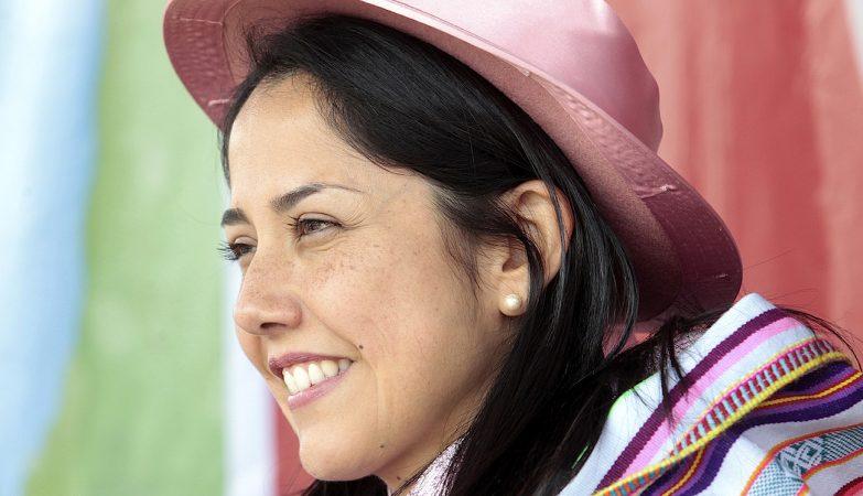 A ex-primeira-dama do Perú, Nadine Heredia