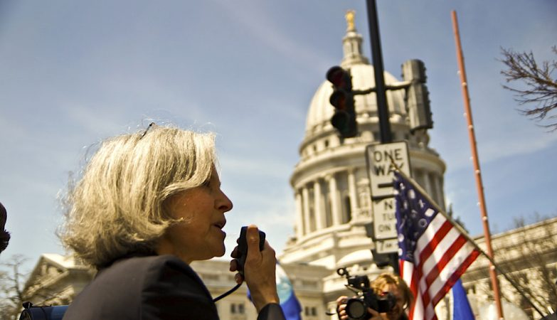 Jill Stein foi candidata à presidência norte-americana pelo Partido Verde