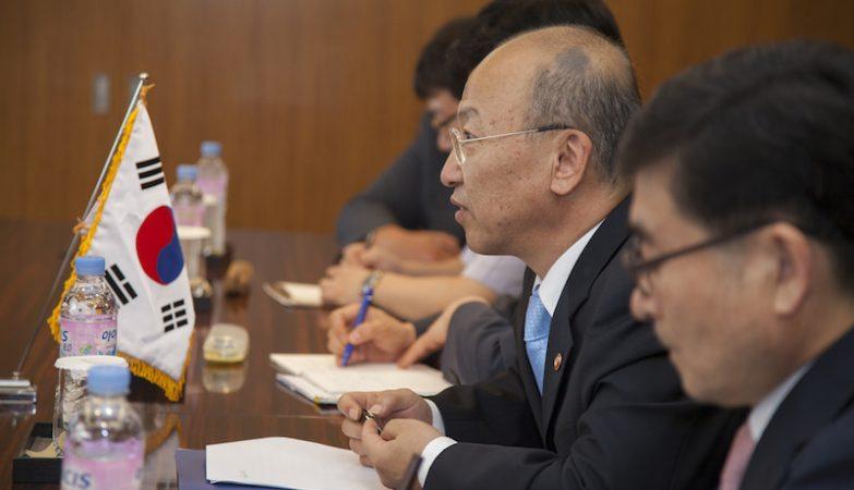 Moon Hyung-pyo, ex-ministro da Saúde sul-coreano