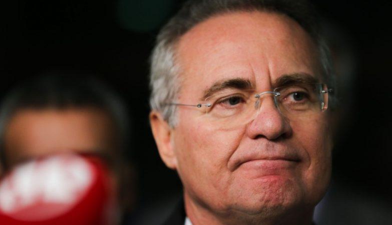 Renan Calheiros, presidente do Senado brasileiro