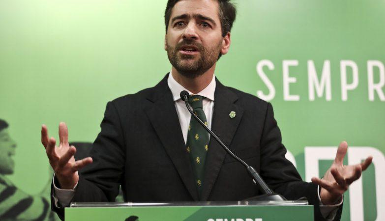 Pedro Madeira Rodrigues apresenta candidatura à presidência do Sporting