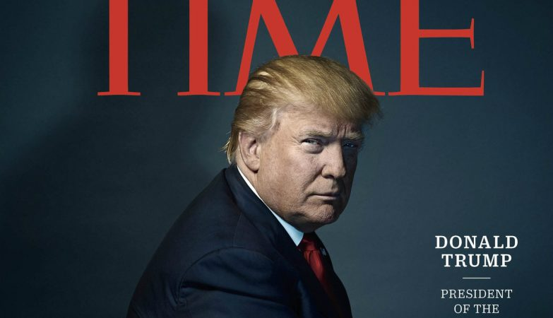 "Donald Trump, ""Person of the Year 2016"" para a revista Time"