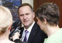 John Key, primeiro-ministro da Nova Zelândia