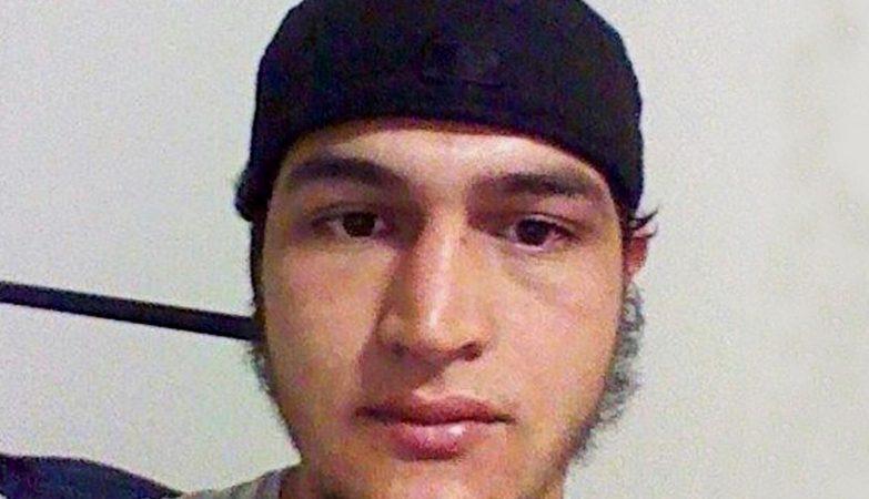 O tunisino Anis Amri, principal suspeito pelo atentado no mercado de Natal em Berlim