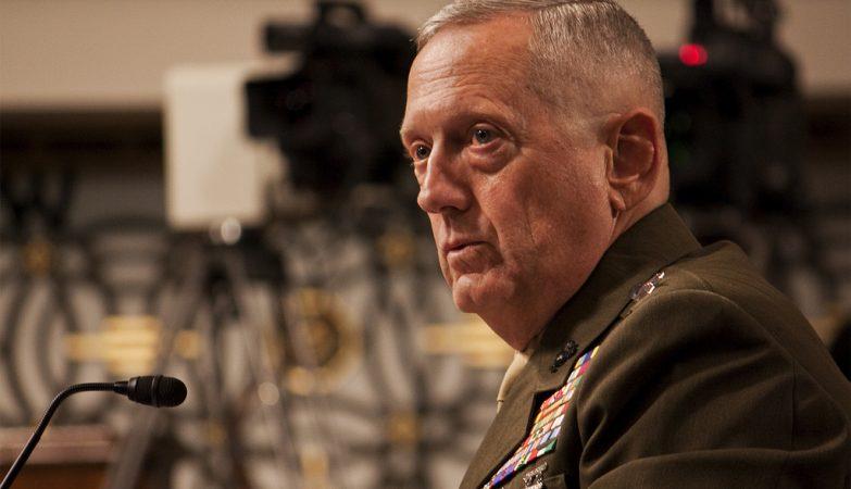 O general James Mattis
