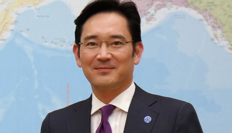 O herdeiro da Samsung Lee Jae-Yong