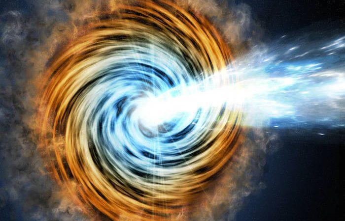 Galáxias alimentadas por buracos negros, chamadas blazares, são das fontes mais comuns detetadas pelo Fermi da NASA.