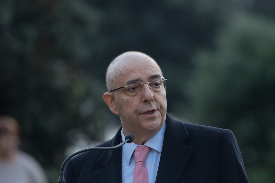 O presidente da Câmara de Matosinhos, Guilherme Pinto