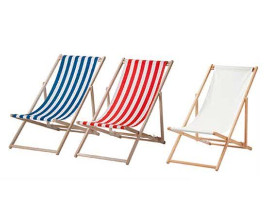 Cadeiras de praia Mysingsö, da IKEA