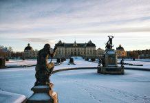 Palácio de Drottningholm, em Estocolmo, na Suécia