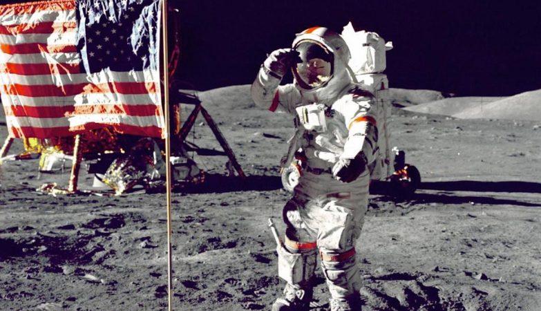 O astronauta Eugene Cernan, o último homem na Lua