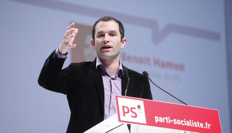 O ex-ministro da Educação da França, Benoit Hamon