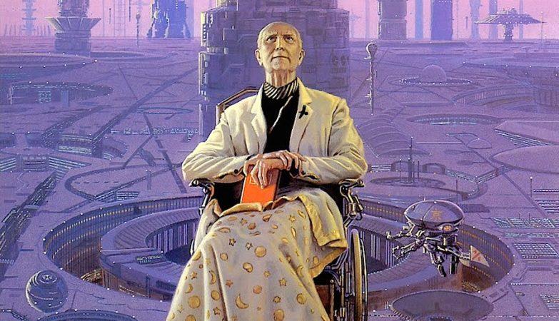 "HARI (1985), Michael Whelan - Hari Seldon na trilogia ""Foundation"", de Isaac Asimov, tal como imaginado pelo artista Michael Whelan"