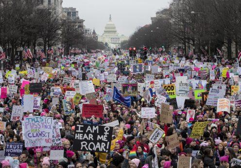 Women's March on Washington, 21 de janeiro de 2017