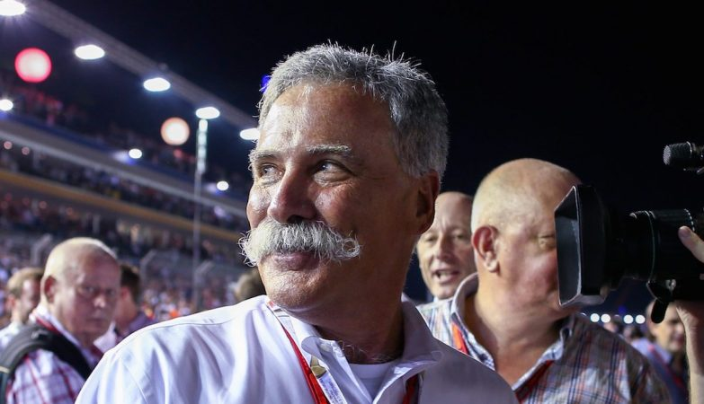 Chase Carey, presidente da Fórmula 1 e CEO da Liberty Media
