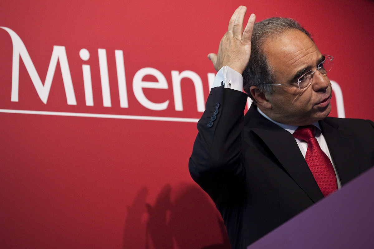 O presidente do Millenium BCP, Nuno Amado