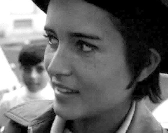 A atriz Maria Cabral