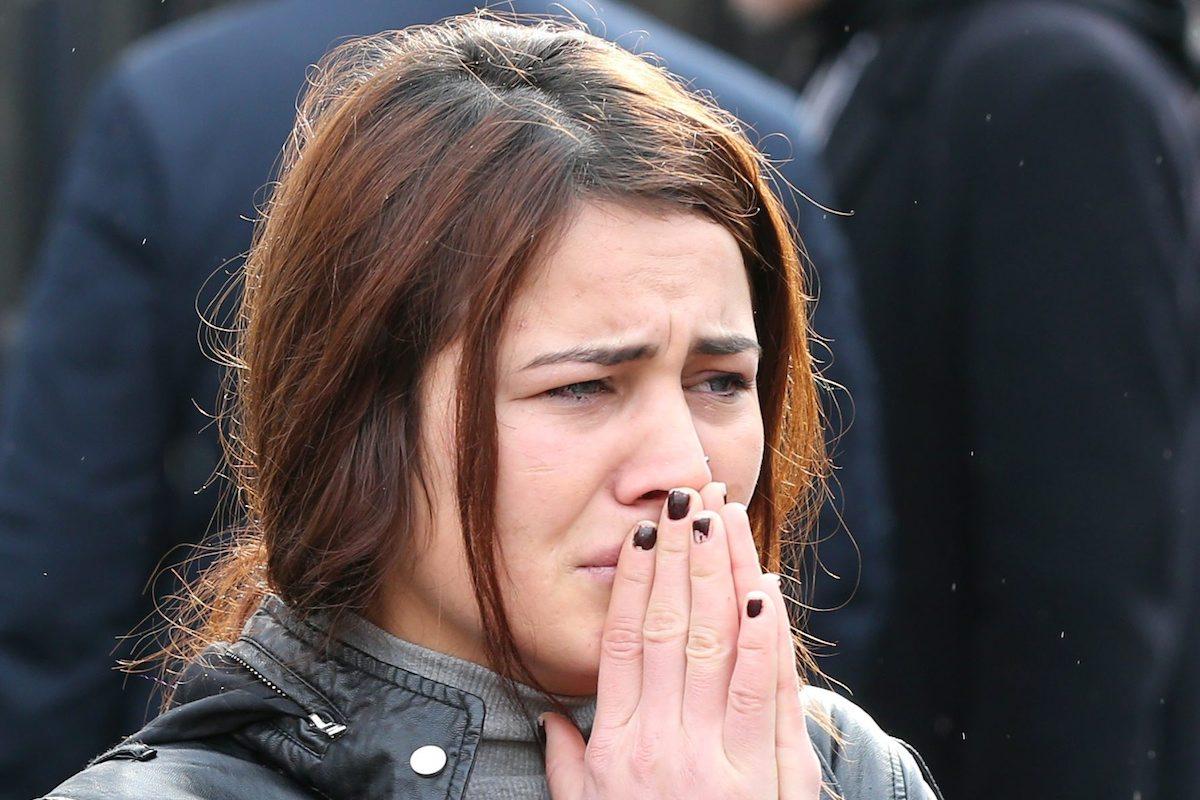 Familiar de uma das vítimas do ataque terrorista à discoteca Reina em Istambul, Turquia