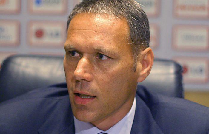 Marco van Basten, ex-futebolista e atual diretor técnico da FIFA