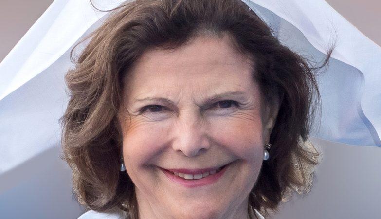 A rainha Sílvia da Suécia