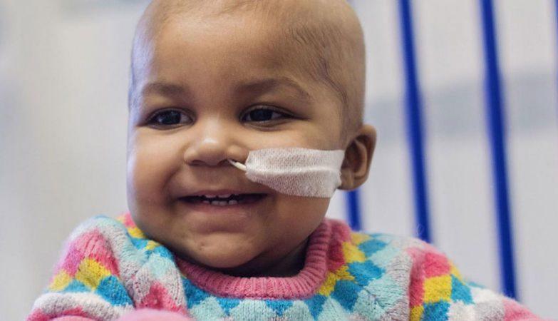 Layla Richards está agora livre de cancro