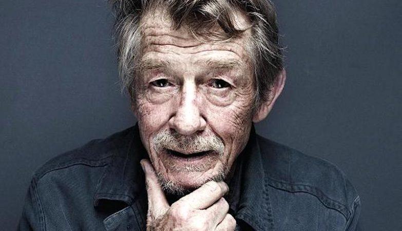 O actor britânico John Hurt