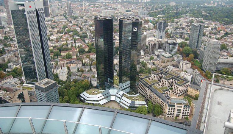 Sede do Deutsche Bank em Frankfurt
