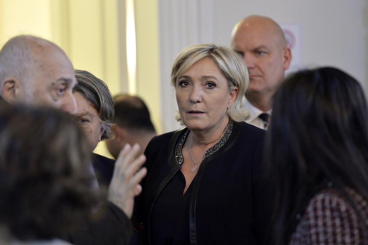 Marine Le Pen em visita ao Líbano