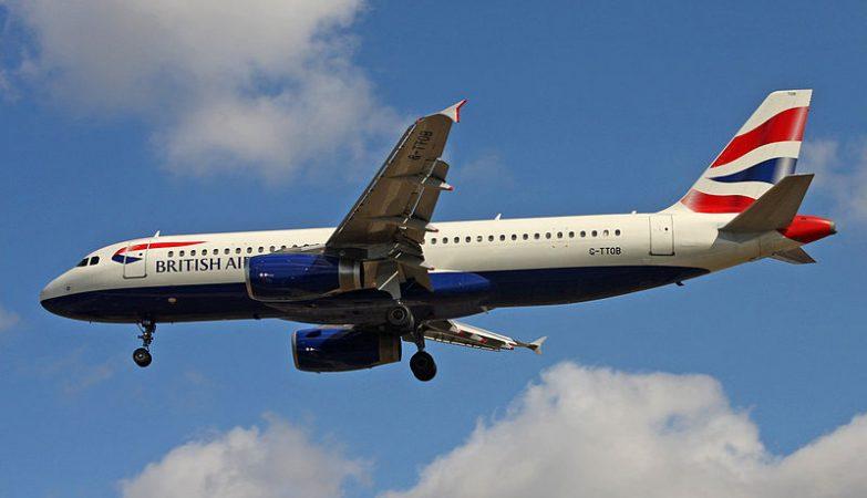 Avião Airbus A320 da British Airways